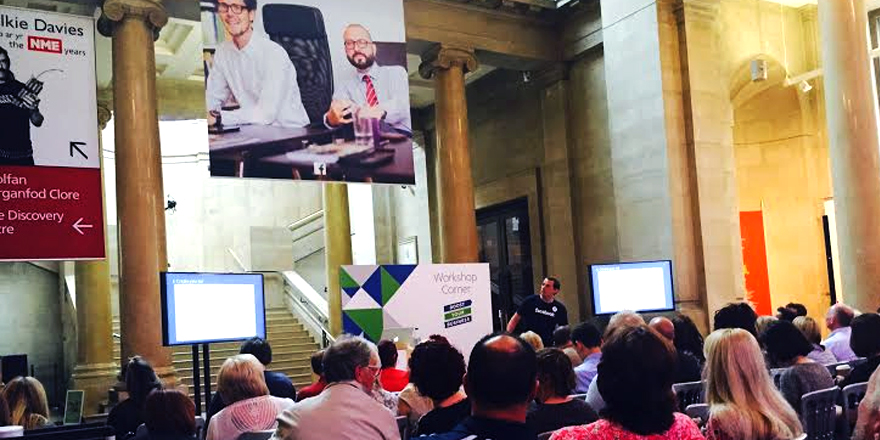 Tips and Stats from Facebook's Boost your Business Cardiff Event