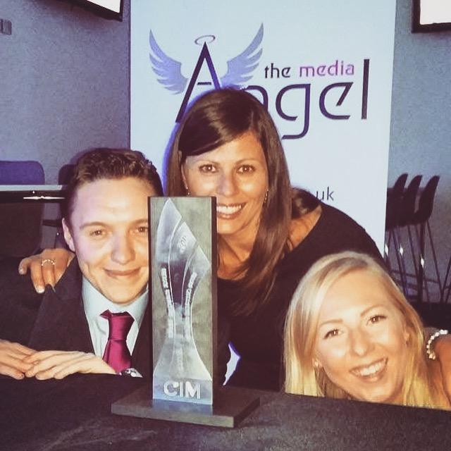 The Media Angel win a prestigious Marketing Award!