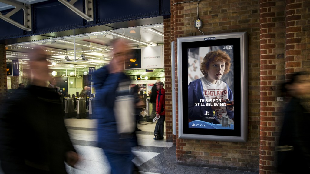 Rail Digital 6 Sheet - Out of Home Advertising - The Media Angel
