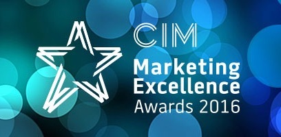 Proud finalists at CIM Marketing Excellence Awards