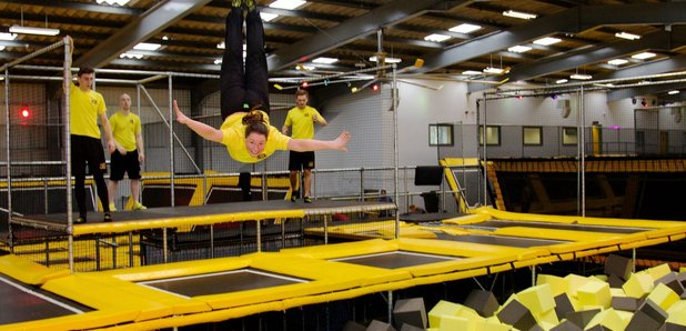 Go Air Trampoline Park has landed in Manchester!