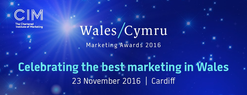 Finalists in CIM's prestigious Wales Marketing Awards