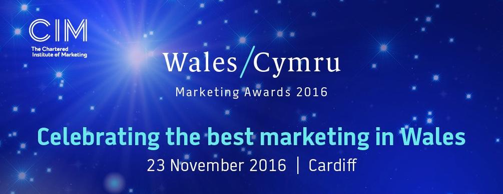 Finalists in CIM's prestigious Wales Marketing Awards