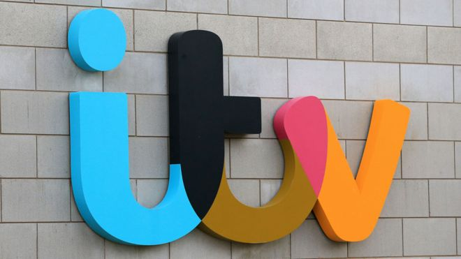 ITV reports drop in ad revenue.