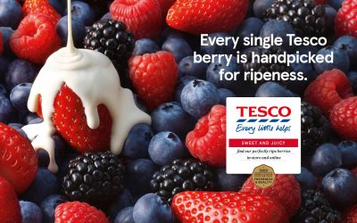 Tesco shifts focus from meals to their passion for food