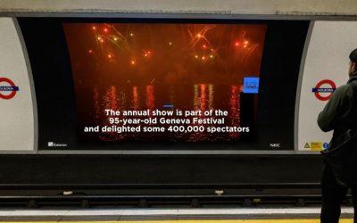 Exterion install new HD screens across TfL network