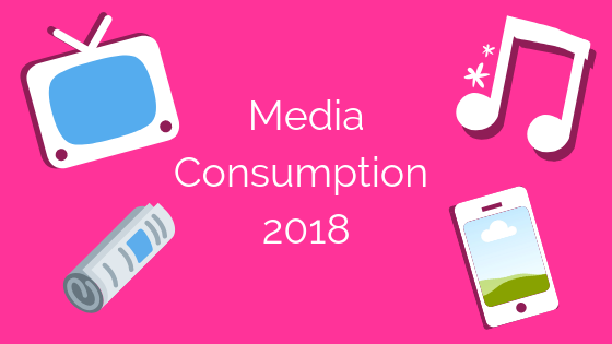 How are people using media in 2018?