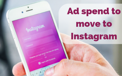 Ad spend to shift from Facebook to Instagram