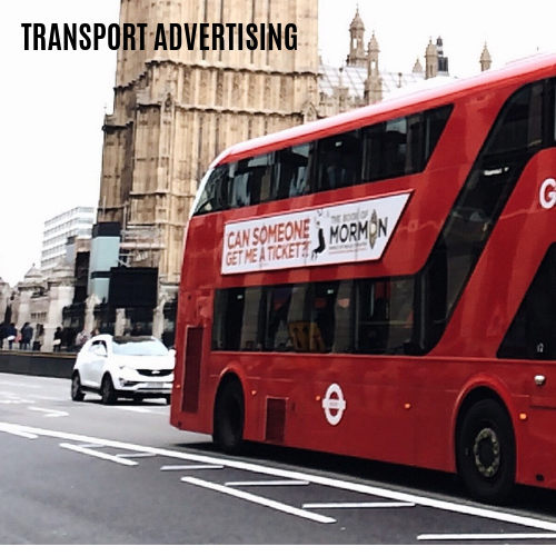 bus rail train airport underground london advertising wales uk