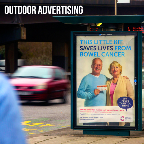 outdoor advertising wales uk 96 48 6 4 16 sheets digital static adshel live billboards rail train airport media