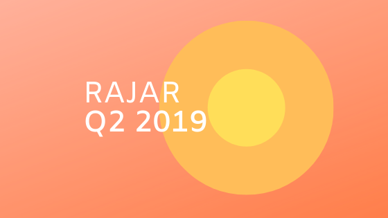 How has radio fared in RAJAR Q2 2019?
