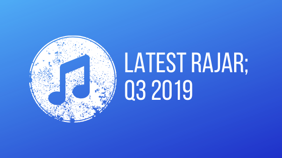 The latest Rajar, Q3 2019