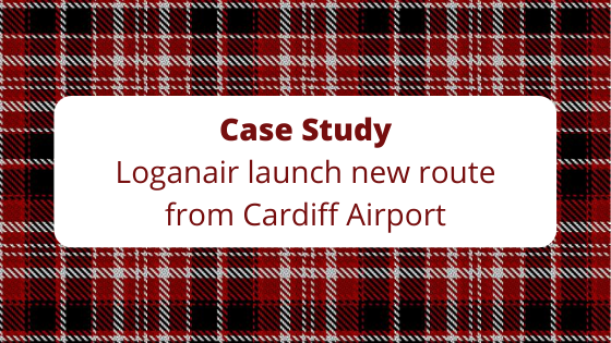 Case Study: The Media Angel help launch new Cardiff Airport route to Glasgow