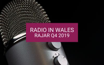 Radio in Wales: RAJAR Q4 2019