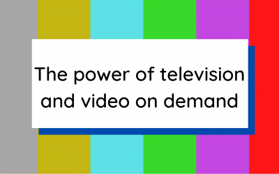 The power of television and video on demand