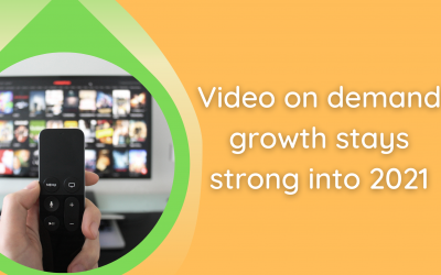 Video on demand growth stays strong into 2021