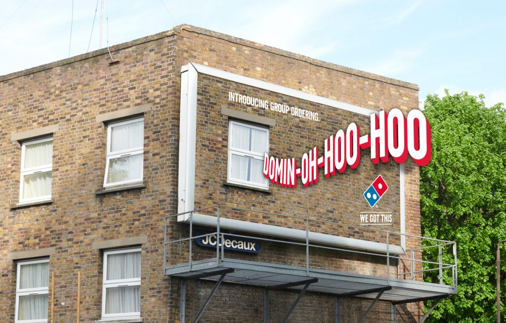 Pizza meets the Sound of Music in Domino's latest advertising campaign